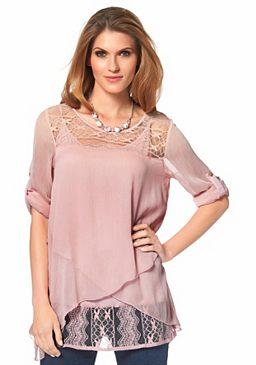 Шифоновая блуза Aniston
