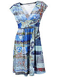 Платье с принтом