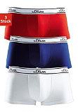 Боксёрские шорты на бёдрах от s.Oliver (двойной комплект)