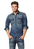 Джинсовая рубашка Tom Tailor Denim