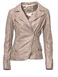 Кожаная куртка, из мягкой овечьей кожи наппа