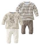 Klitzeklein, 2 футболки с длинным рукавом и 2 пары брюк (комплект из 4 изд.)