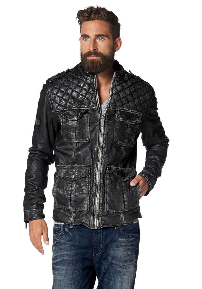 Кожаная куртка Rockinham