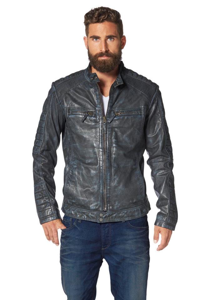 Кожаная куртка Jacques