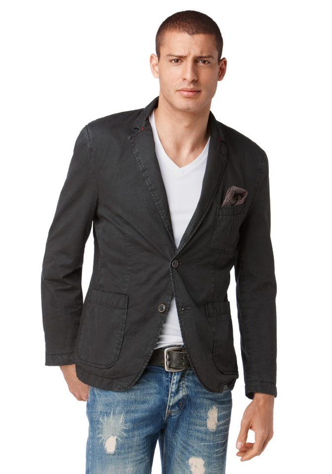 Пиджак из хлопка, John Devin